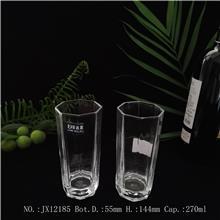 可重复使用水杯 易清洗玻璃水杯 玻璃酒杯