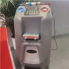 全自动冷媒加注清洗机 冷媒回收加注清洗一体机 汽车冷媒更换机
