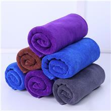 干车大毛巾 供应细纤维擦车巾 吸水洗车擦车速干大毛巾