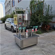 酵素灌装机 山东酵素灌装设备生产企业 低真空灌装机价格 山齐灌装机械 厂家供应