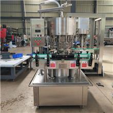 新疆酒水灌装设备 液位恒定灌装机 灌装准不外溢 山齐灌装机械 支持定制