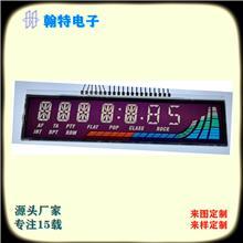 厂家直供液晶显示屏  仪器仪表液晶显示屏  LCD液晶屏尺寸大小可定制断码屏单色