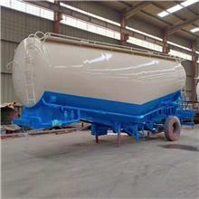 水泥罐半挂车运输尺寸 9.5米一体后翻自卸半挂车图片 厂家直销