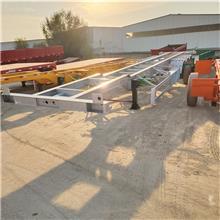 20英尺骨架集装箱运输挂车尺寸 危险品箱式轻型车现车 供应厂家
