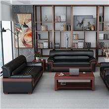 云南办公沙发茶几套组 商务洽谈沙发套组价格 办公家具