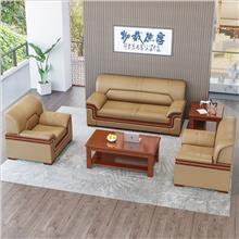 云南办公沙发套组 沙发茶几三件套价格 办公家具厂家