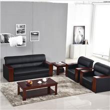 办公沙发套组批发 曲靖商务接待沙发价格 沙发茶几批发 办公家具