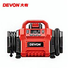 大有充气泵 云南20V锂电车载充气泵 便携式充气泵价格