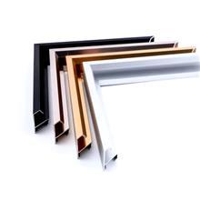 山东铝型材厂家 吉聚铝业 铝合金相框 画框线条 装饰画边 框电梯广告 海报外框镜框直销