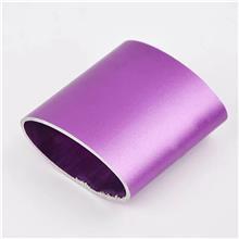 铝管氧化紫色 铝合金表面处理 铝方管粉色