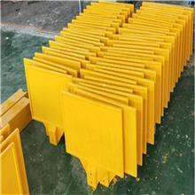 玻璃钢桩体表面使用特制油漆 燃气管道玻璃钢警示桩 管道雕刻桩支持定制