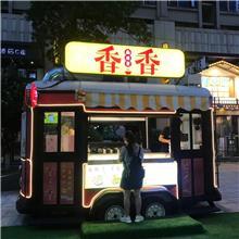 移动餐厅车-流动小吃车 电动餐车 手推餐车 大巴餐车仿 古餐车_质优价廉
