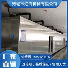 面食速冻机 速冻山野菜设备 北京氟利昂速冻设备 汇海机械