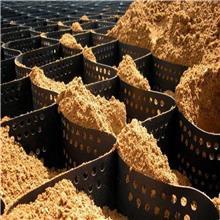 厂家直供蜂窝立体网格带土工格室固土坡护坡绿化植草蜂巢土工格室 塑料土工格室 塑料蜂巢
