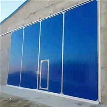 变配电室钢大门彩钢大门厂家直销车间厂房钢制大门工业大门 大尺寸门