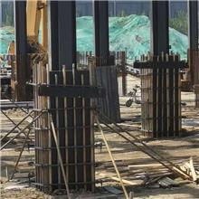 方柱紧固件 浇筑混凝土镀锌方柱扣 建筑用方柱扣加固件 按需供应