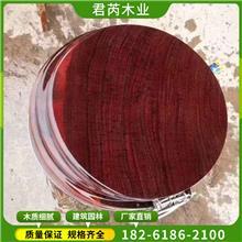 进口红菠萝格防腐木 实木户外地板料 菠萝格园林古建异性加工