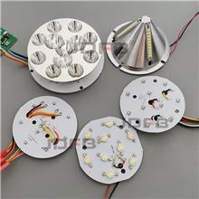 矿用防爆巷道灯LED机车灯隔爆型投光灯光源驱动电源板配件DGY/DGS 转向灯 远近光灯