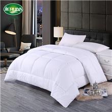 纯白色仿羽绒被芯 酒店被子可水洗四季羽丝棉被子