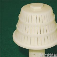 兰州工程塑料蘑菇头生物滤池用ABS长柄滤头工程塑料ABS材质1吨滤帽