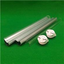 厂家直销 T5led日光灯管 T5一体化灯管外壳散件 T5套件 配件