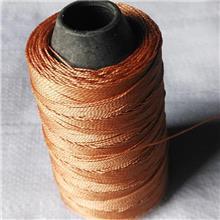 福建编织袋线 风筝线 浸胶高强涤纶帘子线批发价格