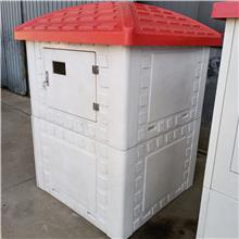 生产加工 玻璃钢机井屋 机井灌溉控制系统 白色玻璃钢井房