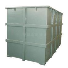 厂家直供 钢衬塑方槽 酸洗槽 钢衬PE化工储槽 不锈钢方槽
