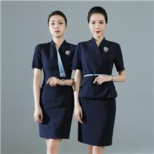 成都职业装定制 连衣裙套装 酒店前台 美容师 空姐工作服