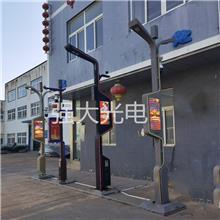 LED智慧新时代城市整体方案 5GWIFI充电桩智能视频监控一体路灯