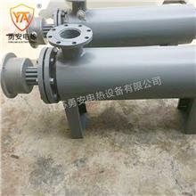 40KW工业热风电加热器熔喷布空气加热管道式辅助压缩氮气体加热器