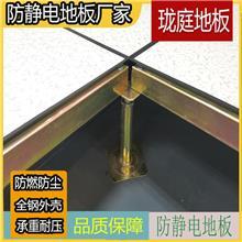 全钢高架防静电地板厂家 珑庭 静电全钢地板 制造商生产供应