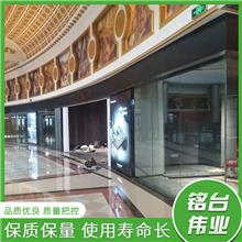 铝合金客厅隔音玻璃有框电动折叠门室内电动隔断阳台活动隔断定制