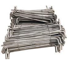 紧固件生产 热镀锌地脚螺栓 预埋地脚螺丝 7字9字地脚丝