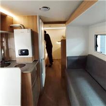 商用营地旅居房车 牵引式景区用纺车 大小支持定制的营地野餐野营车 2021新款营地房车