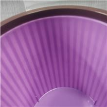 紫色塑料垃圾桶家用 鸿尚 垃圾桶厨房客厅卧室创意办公室