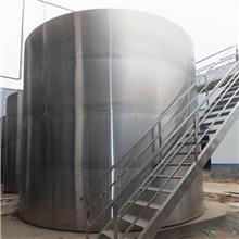 二手沥青储罐详情 实验304材质储罐 厂家 二手卧式碳钢储罐图片