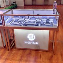珠宝展柜定制厂家 背柜中岛柜柜台门头全套设计定制