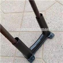 建筑工字钢悬挑U型丝保护套隔离套预埋件塑料底座套管分离套压环