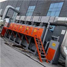 供应催化燃烧 喷涂车间废气处理设备 催化燃烧设备 按需定制