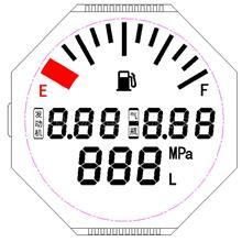 设计开发 车载仪器仪表液晶显示屏 TN段码液晶屏 单色液晶屏 段式液晶屏