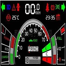 车载液晶屏车载LCD屏黑白液晶屏段码液晶显示屏生产厂家