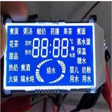 多功能电磁炉显示屏 智能厨具液晶屏 LCM模块 带触控LCD段码屏驱动板设计开发