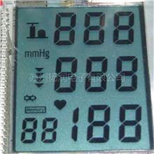 TN段码屏 血压测量仪显示屏  医疗保健器械液晶屏 苏州生产厂家开发设计长寿命低功耗