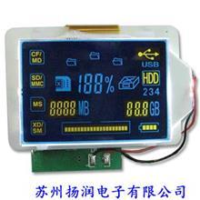 LCM液晶模块 LCD段码屏模组 PCB板驱动开发设计 遥控触摸屏方案