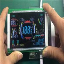 车载智能电子显示屏 彩色液晶屏  VA段码屏 苏州生产厂家设计开发定制定做