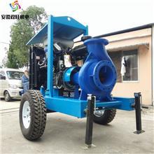 柴油机防汛抢险泵-柴油机多级泵-柴油机自吸泵-拖车式移动泵车