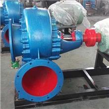 广汇混流泵厂家250HW-8卧式蜗壳式混流卧式蜗壳式混流泵 灌溉水泵柴电两用