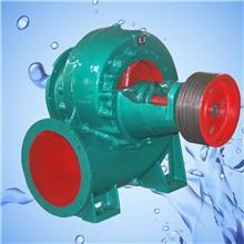 广汇混流泵厂家350HW-8卧式蜗壳式混流泵 灌溉水泵柴电两用