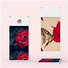 双面吊挂广告机双屏高清 华金智能 安卓广告机镜面OLED显示屏 橱窗智能广告机